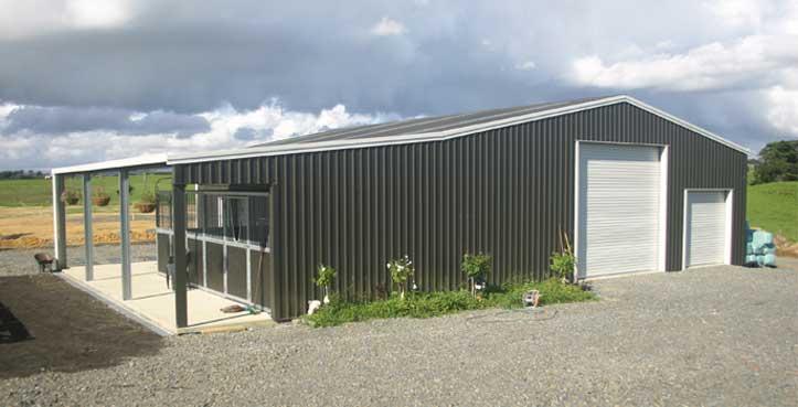 Kitset Sheds Ltd Farm Sheds And Garages Industrial