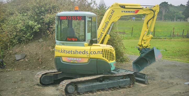 Starting from the point of manufacture, Kitset Sheds Ltd use the best gear available