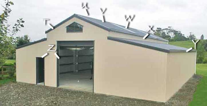 Colorsteel Zincalume Or Galvanised Wall Cladding Roofs
