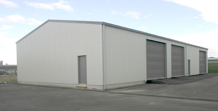 True quality industrial sheds