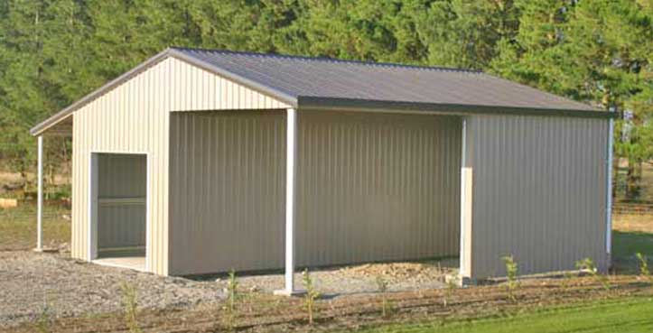 Our deluxe sheds are the highest quality kit buildings in New Zealand