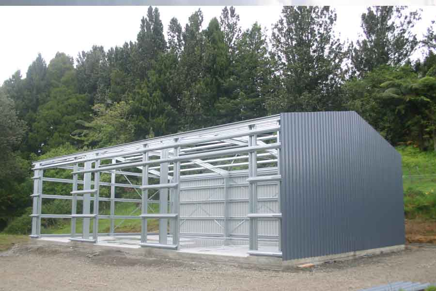 Steel Framed Sheds : Farm sheds and rural buildings we supply build