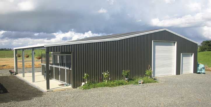 Kitset Sheds Ltd is able to supply custom built sheds