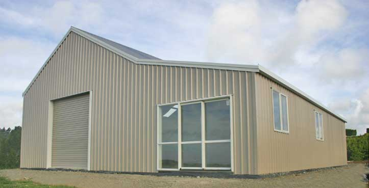 Lifestyle shed and barn with accommodation