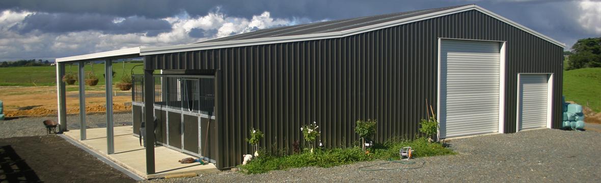 Kitset Sheds Ltd Farm Sheds Kitset Garages Nz Steel